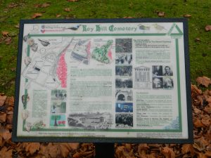 Key Hill Cemetery Information Board Jewellery Quarter 2013