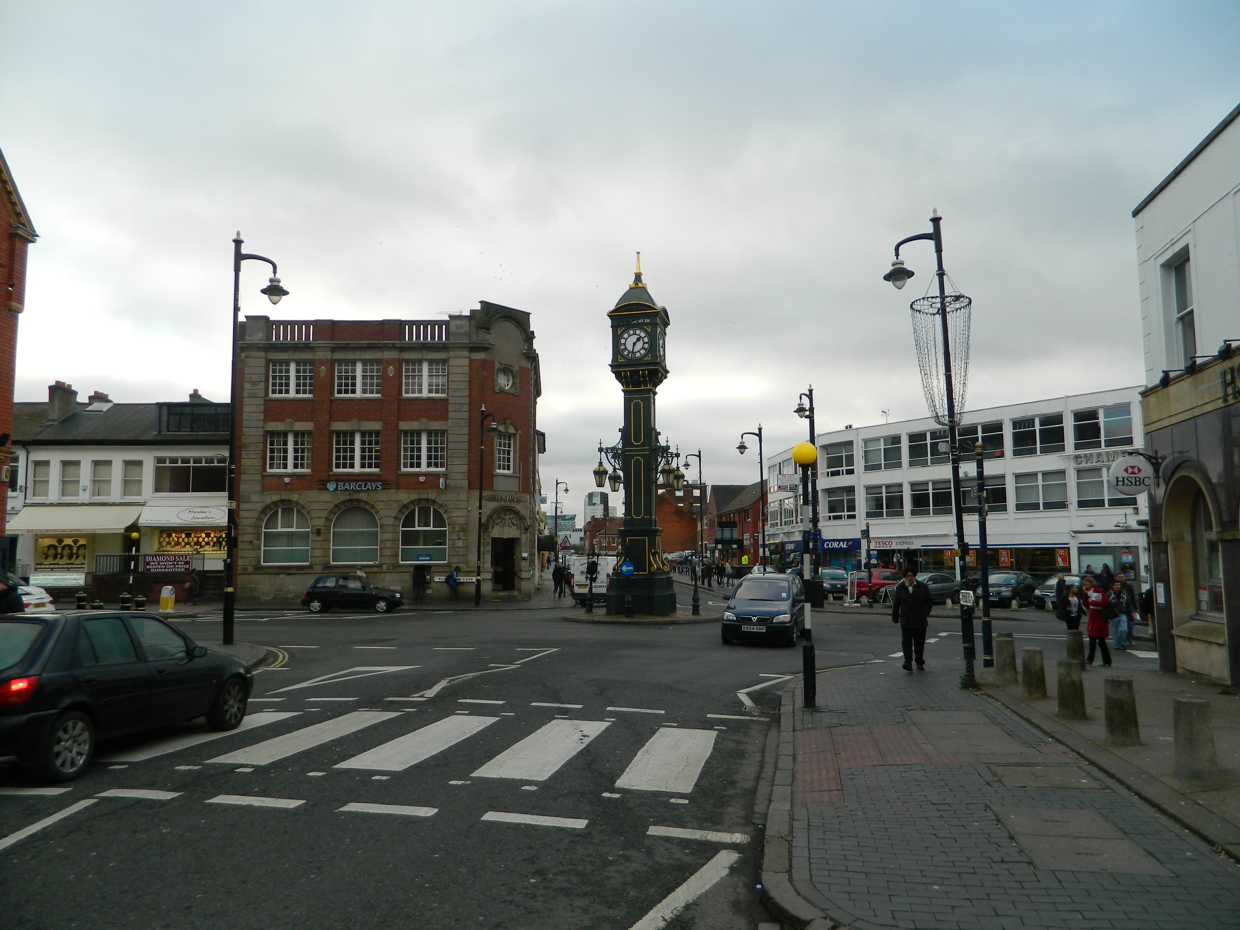 Jewellery Quarter Clock 2013