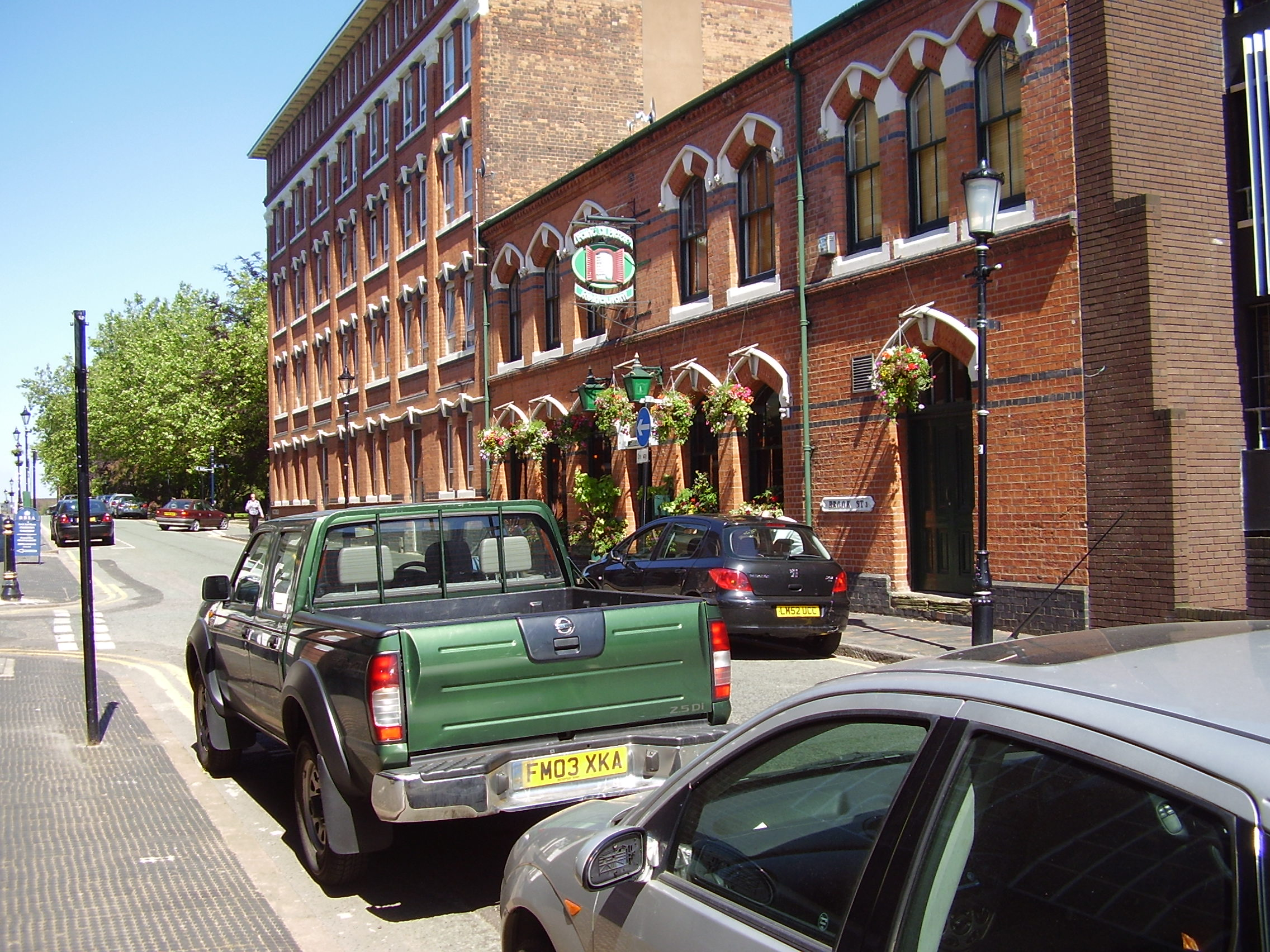 2008 Street view photo 13 of St Pauls Square Area of the Jewellery Quarter Birmingham