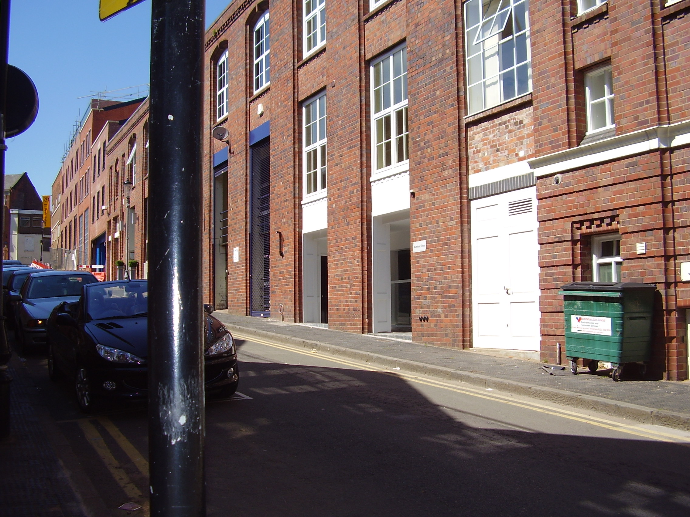 2008 Street view photo 11 of St Pauls Square Area of the Jewellery Quarter Birmingham