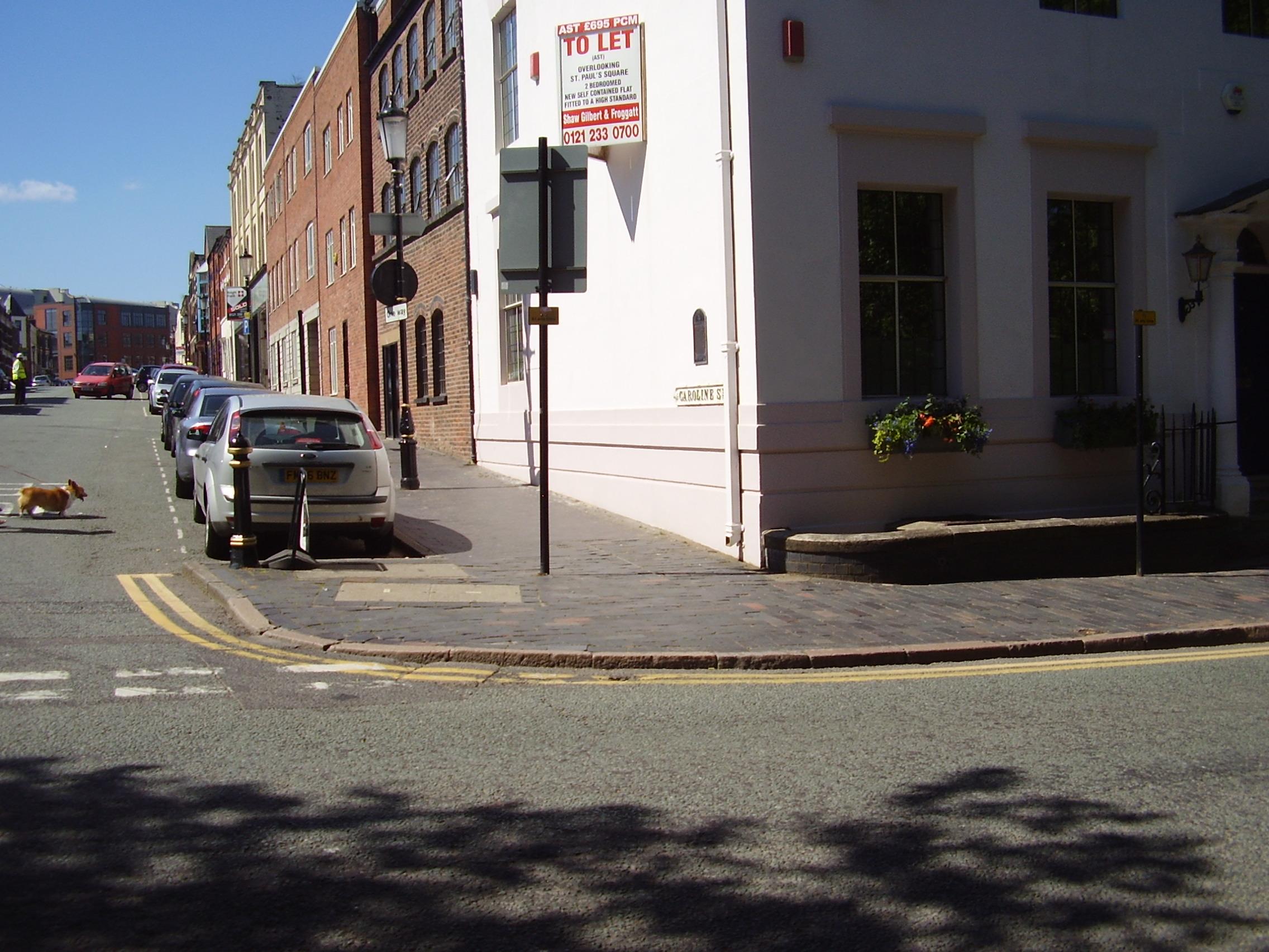 2008 Street view photo 9 of the Jewellery Quarter Birmingham