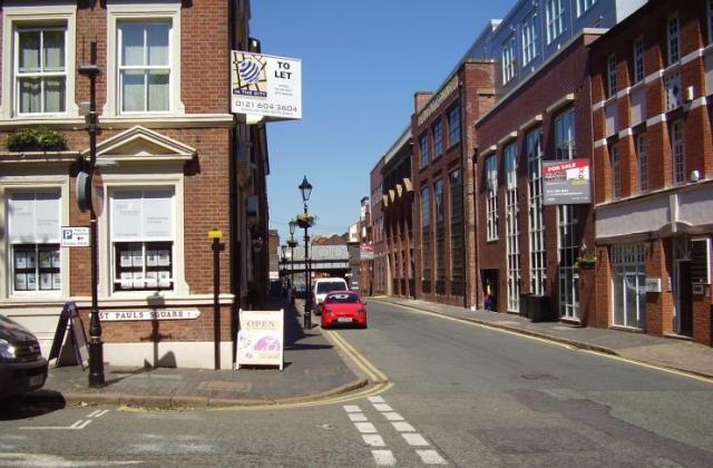 2008 Street view photo 5 of the Jewellery Quarter Birmingham