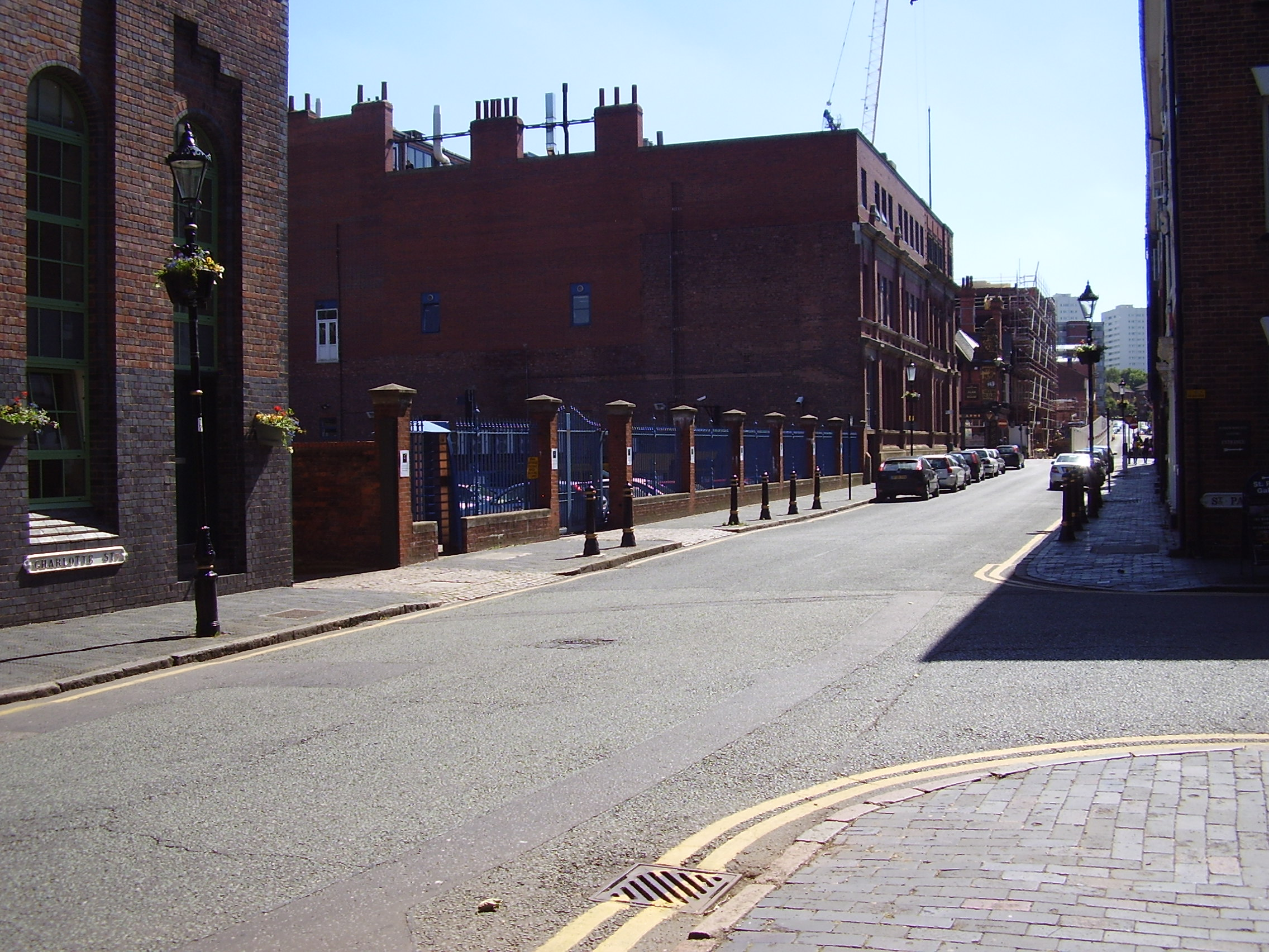 2008 Street view photo 1 of the Jewellery Quarter Birmingham
