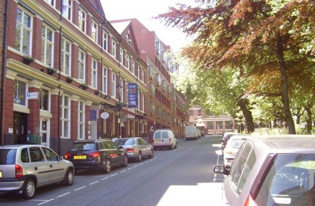 2008 Street view of St Pauls Square Area of the Jewellery Quarter Birmingham