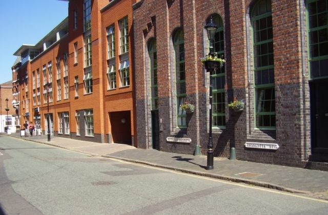 2008 Street view photo 28 of the Jewellery Quarter Birmingham