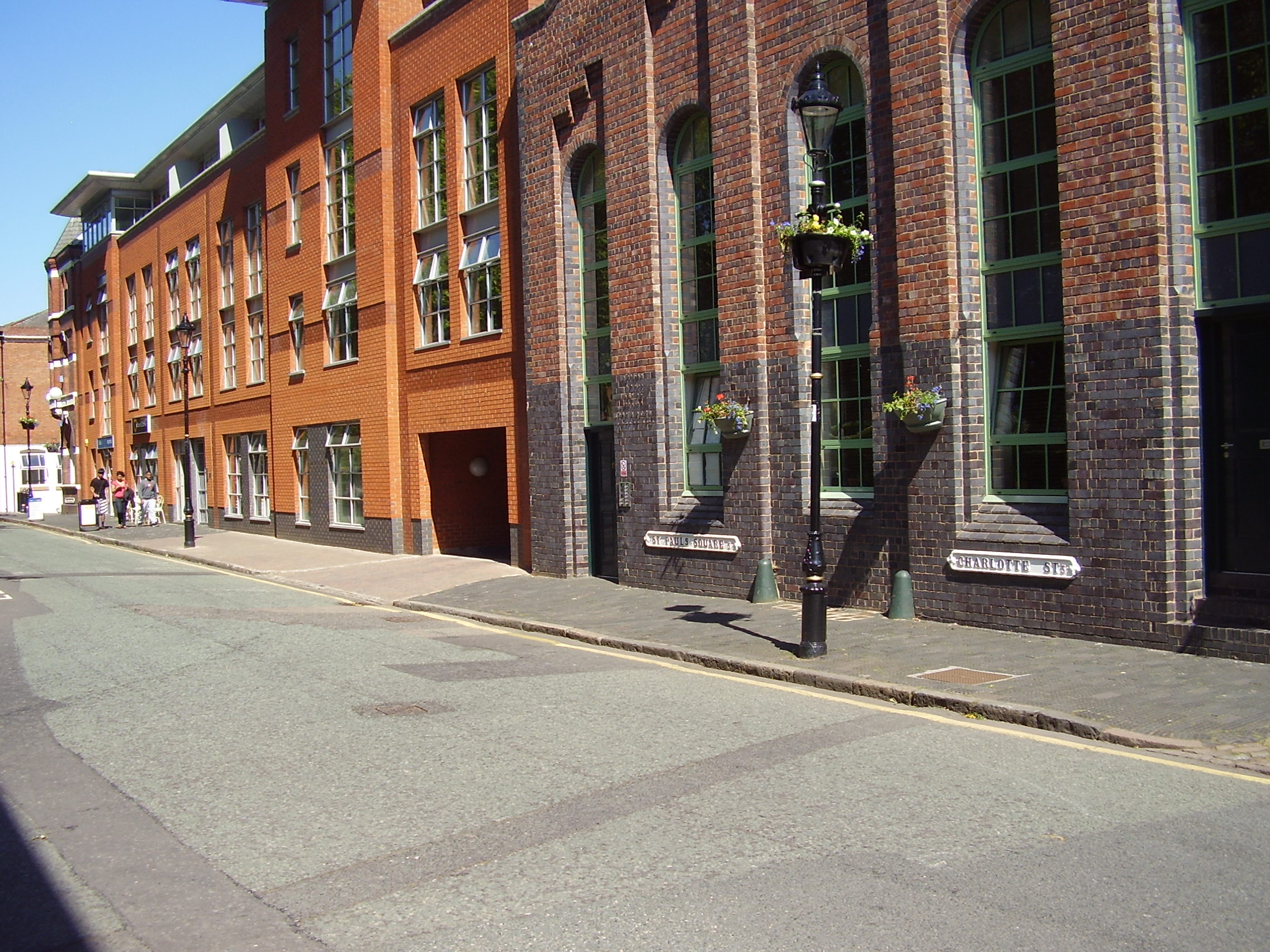 2008 Street view photo 28 of the Jewellery Quarter Birmingham