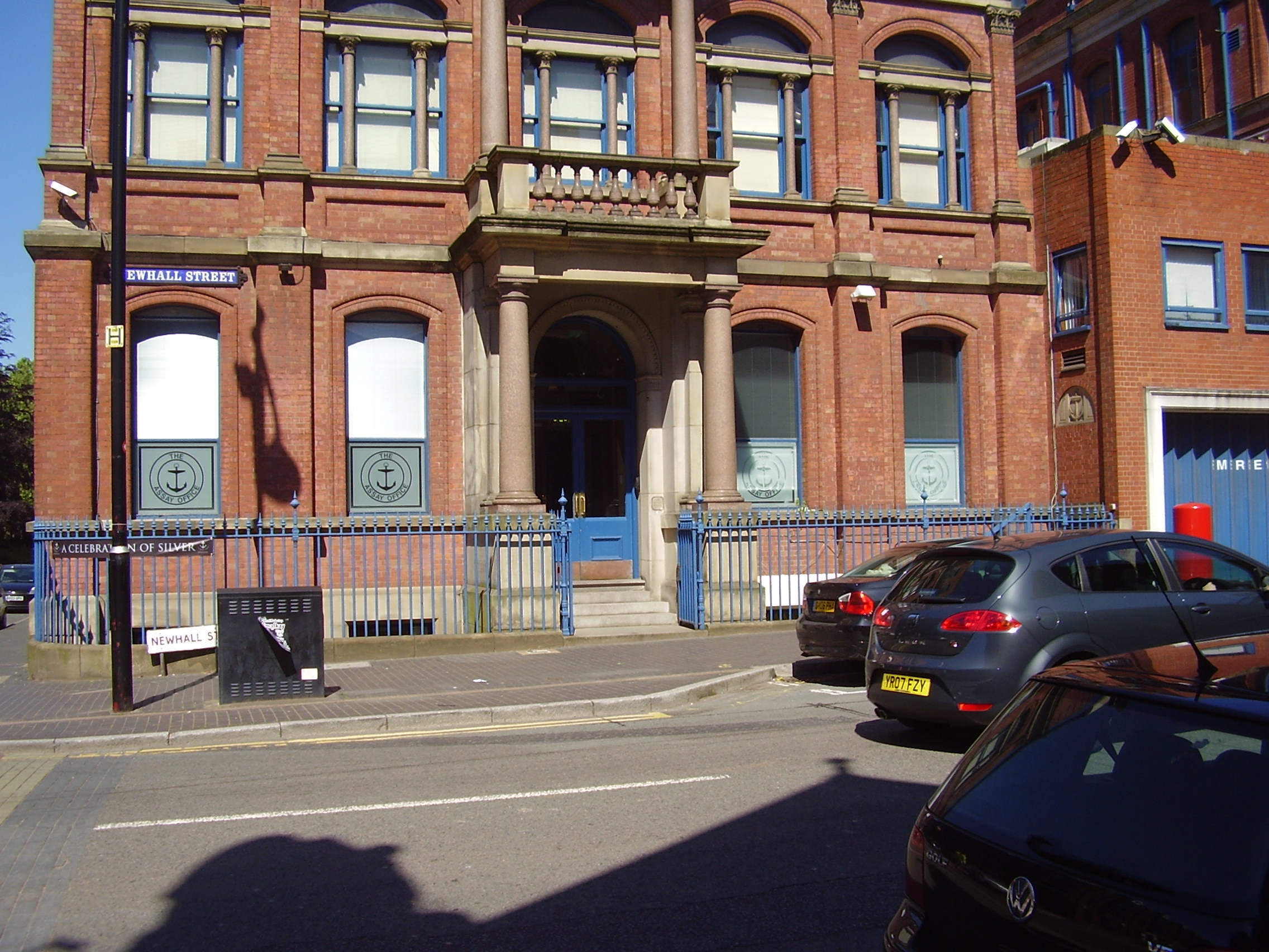 The Birmingham Assay Office Photo 2008 Built 1773 Newhall Street, Jewellery Quarter Birmingham