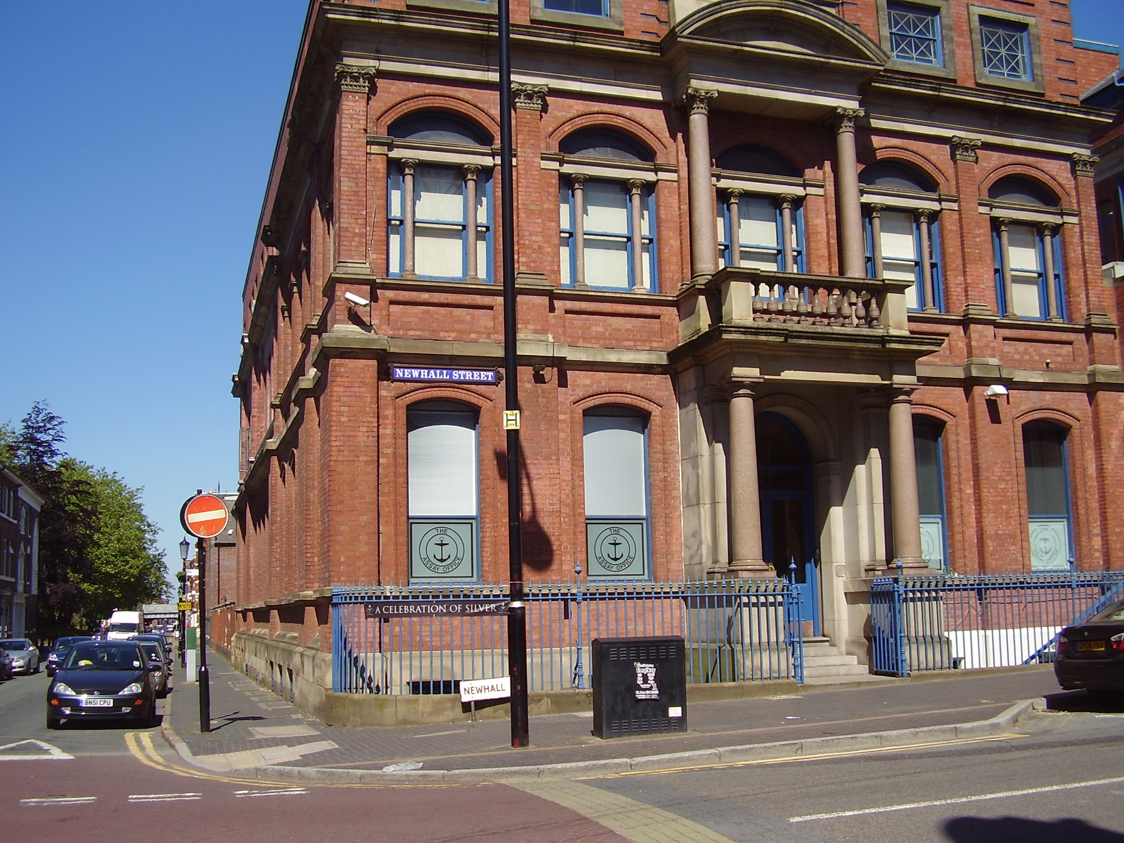 The Birmingham Assay Office Built 1773 Newhall Street, Jewellery Quarter Birmingham 2008