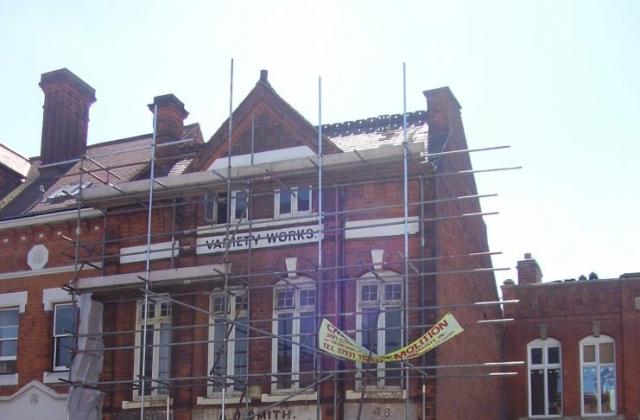 Historic Buildings of the Jewellery Quarter Birmingham Photo 2008