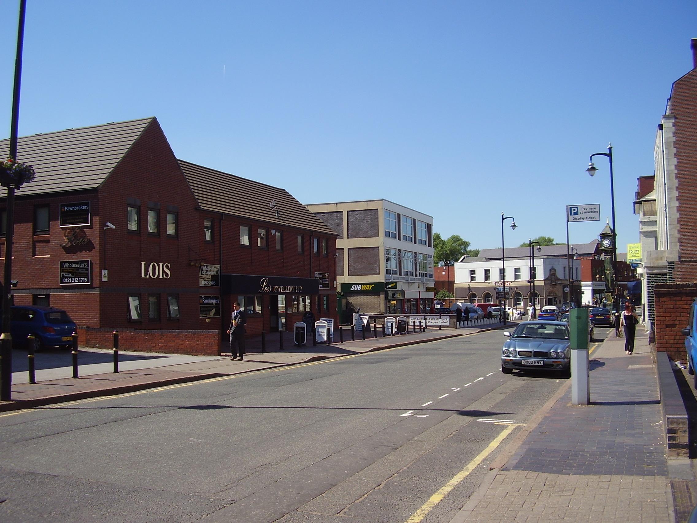 2008 Street view photo 24 of the Jewellery Quarter Birmingham