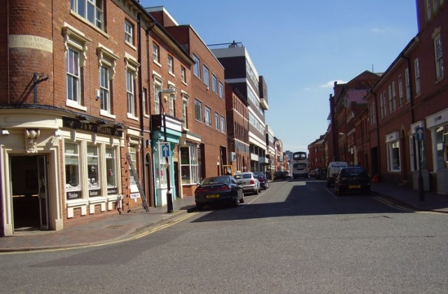 2008 Street view photo 22 of the Jewellery Quarter Birmingham