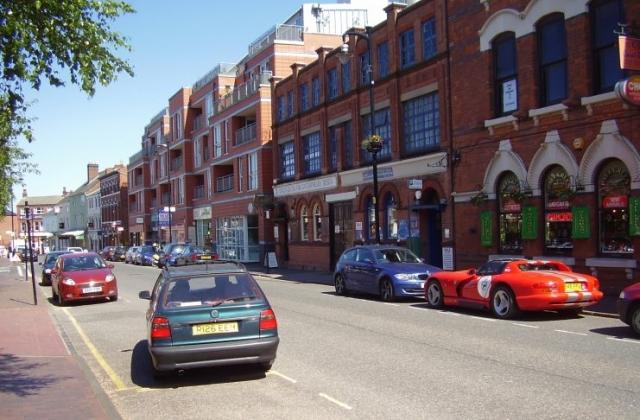 2008 Street view No 18 of the Jewellery Quarter Birmingham