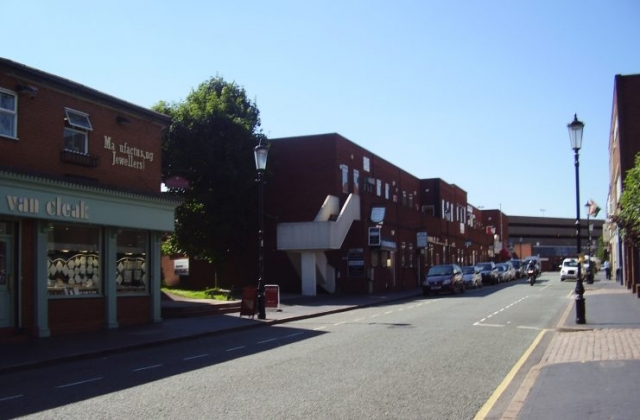 2008 Street view No 14 of the Jewellery Quarter Birmingham