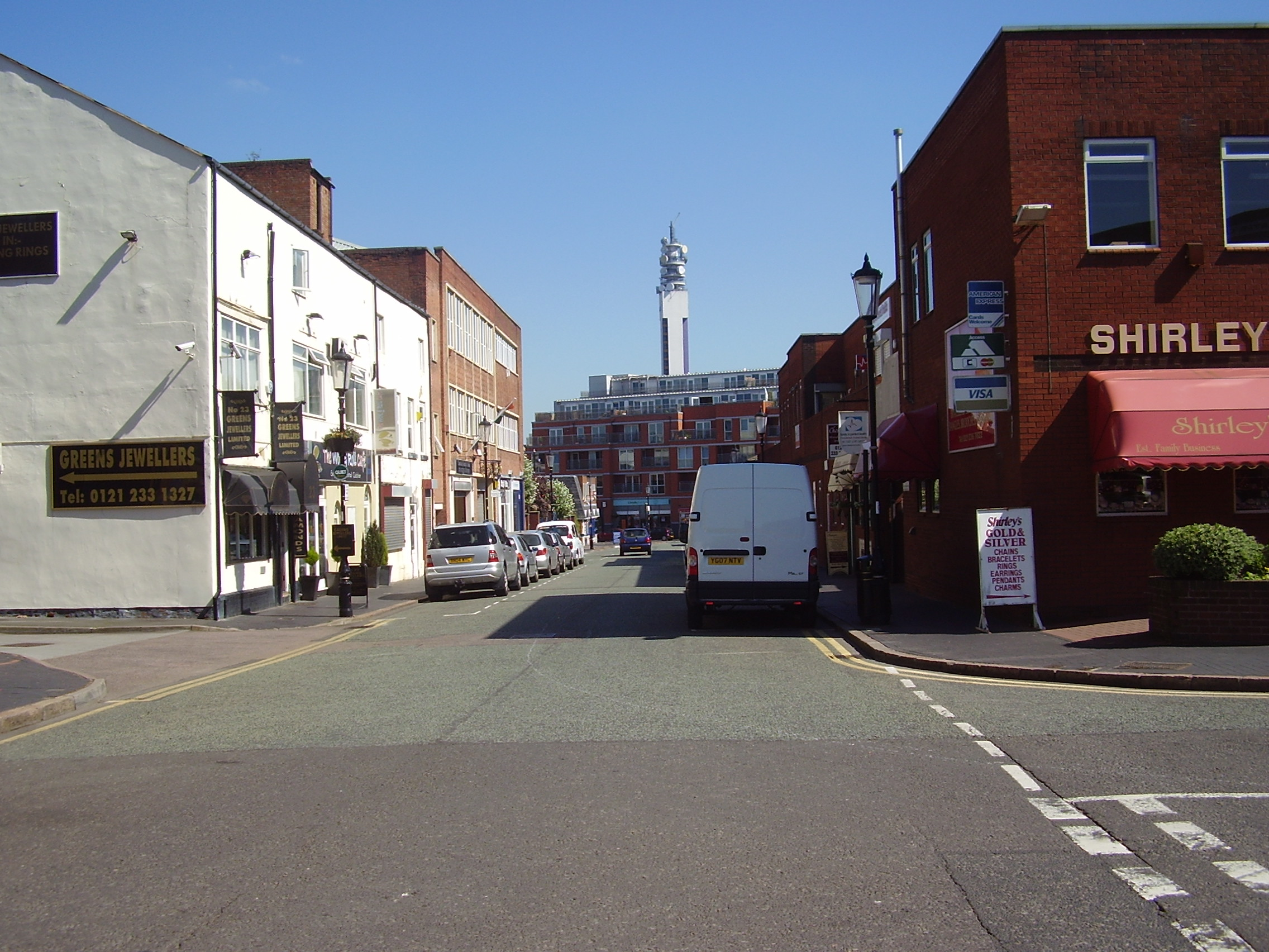 2008 Street view No 12 of the Jewellery Quarter Birmingham