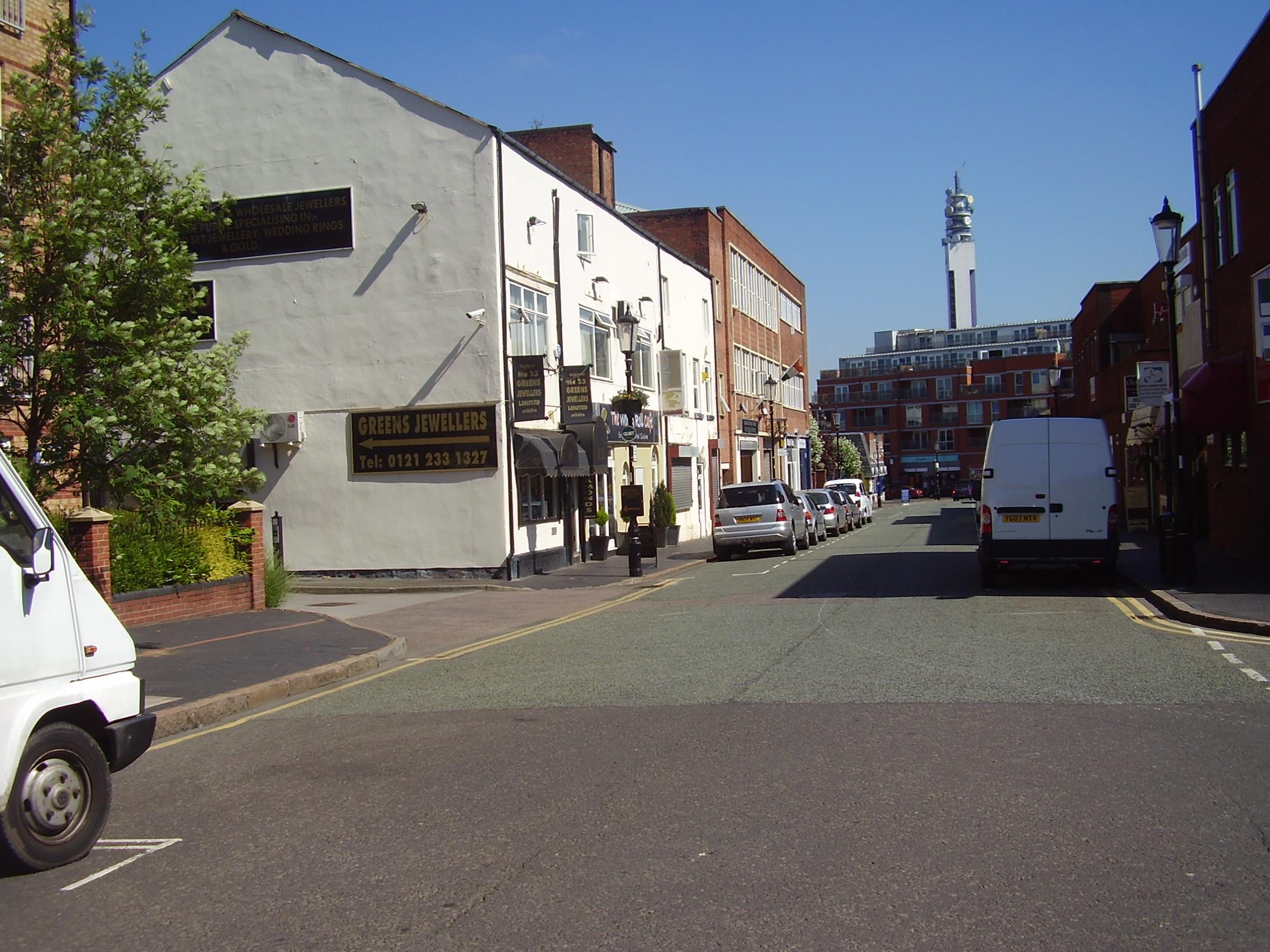 2008 Street view No 11 of the Jewellery Quarter Birmingham