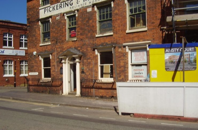 Old Historic Building Jewellery Quarter Birmingham 2008