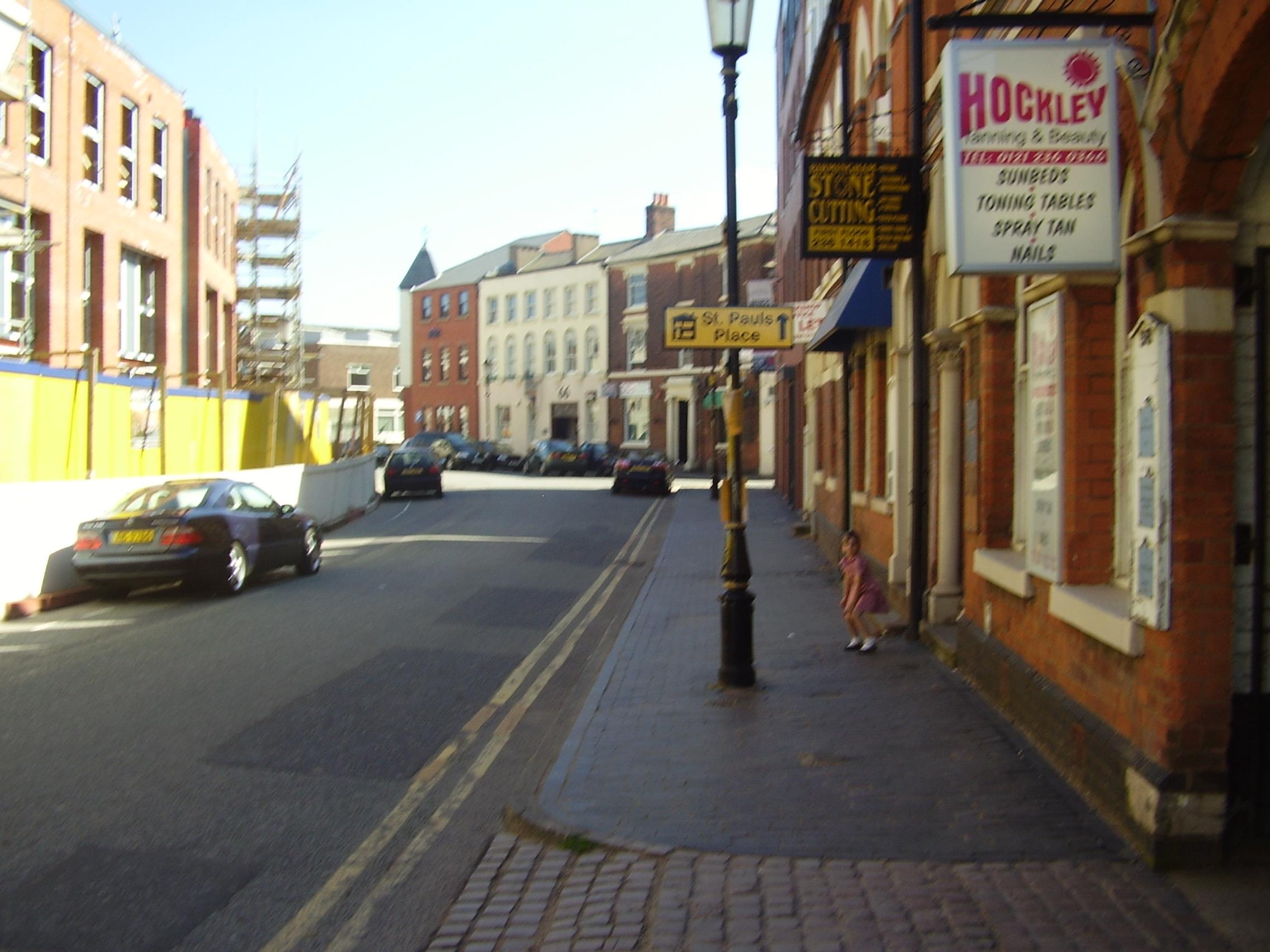 2008 Street view of the Jewellery Quarter Birmingham 6