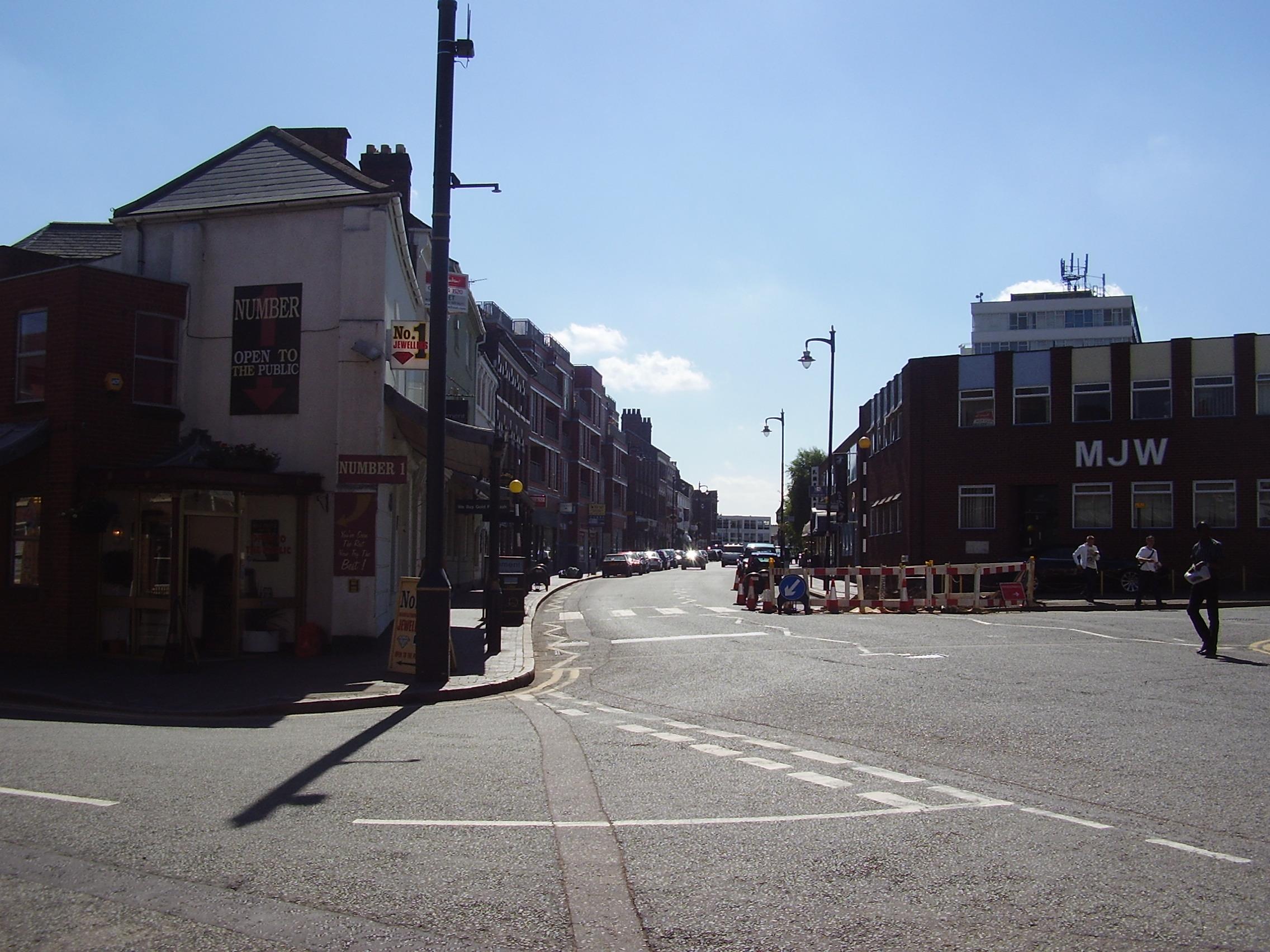 2008 Street view of the Jewellery Quarter Birmingham 4