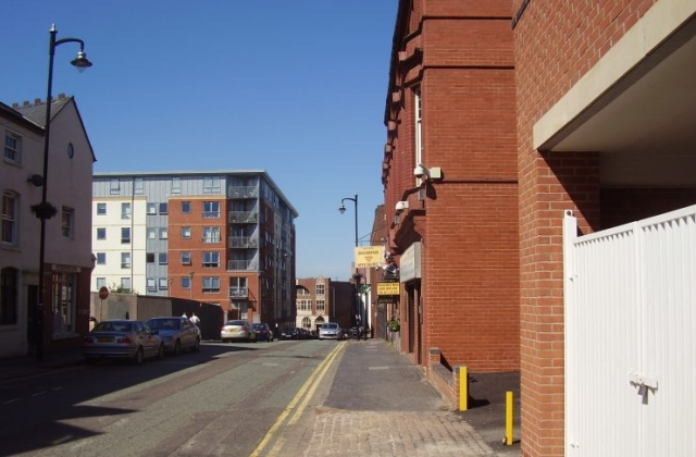 2008 Street view of the Jewellery Quarter Birmingham 3