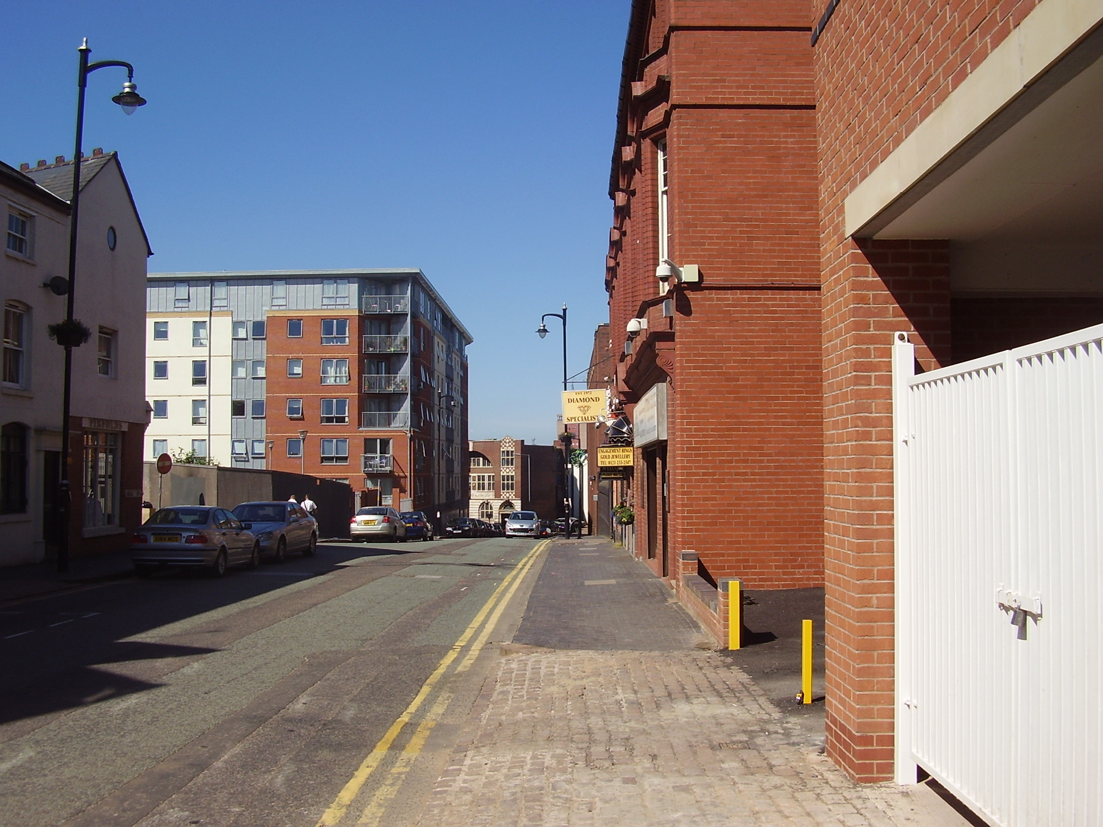 2008 Street view of the Jewellery Quarter Birmingham 3