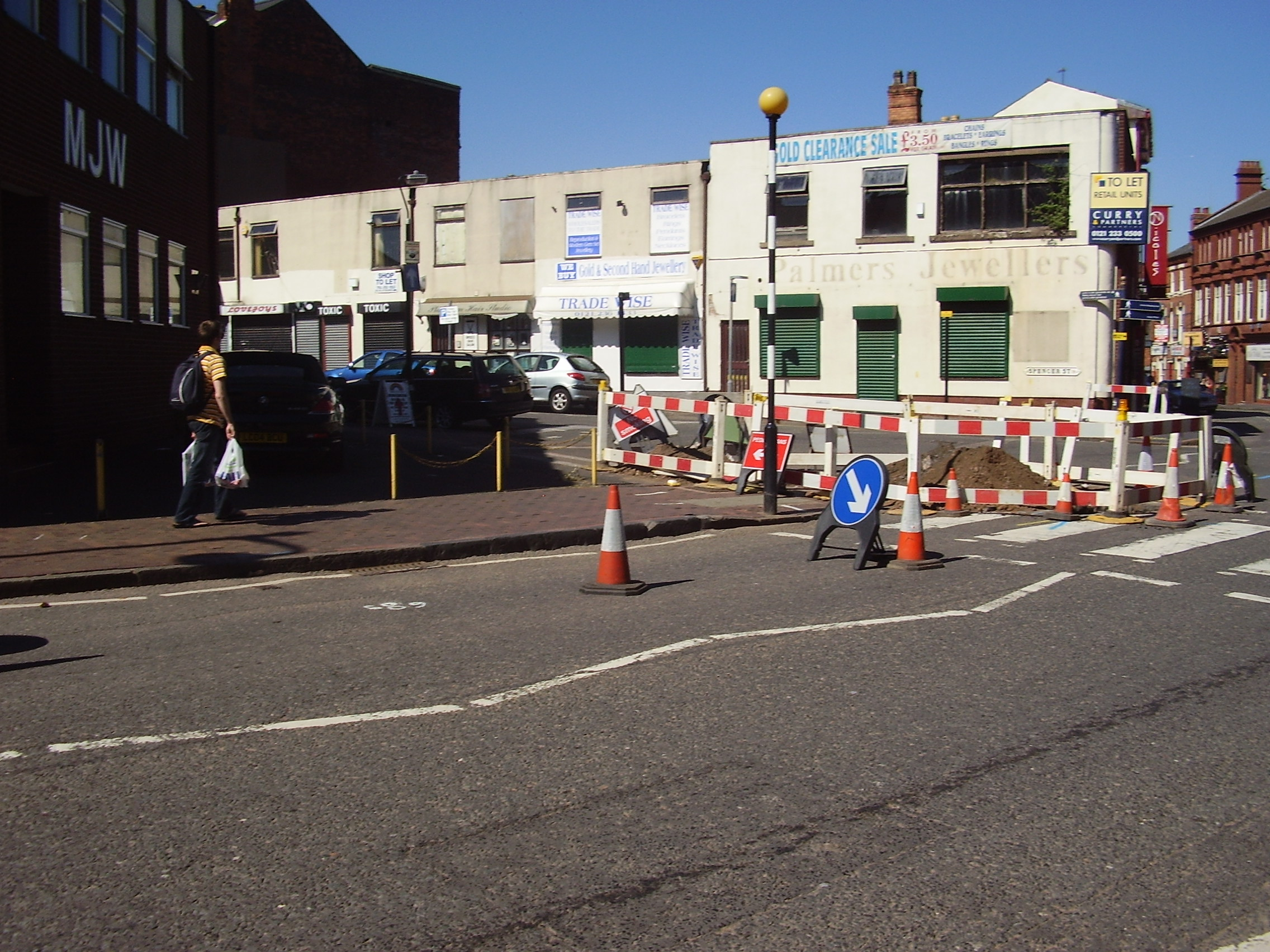 2008 Street view of the Jewellery Quarter Birmingham 1