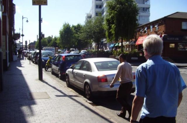 2008 Street view of the Jewellery Quarter Birmingham