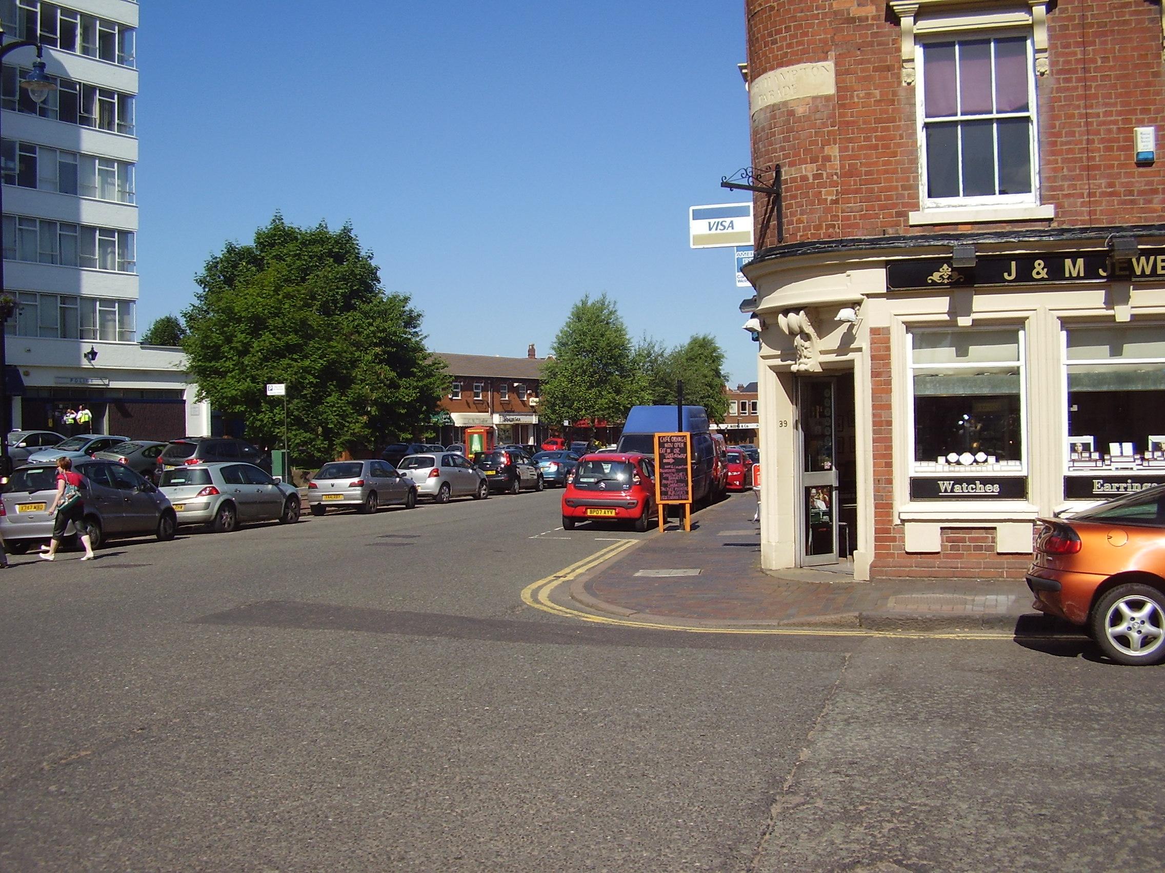 2008 Street view of the Jewellery Quarter in Birmingham 2