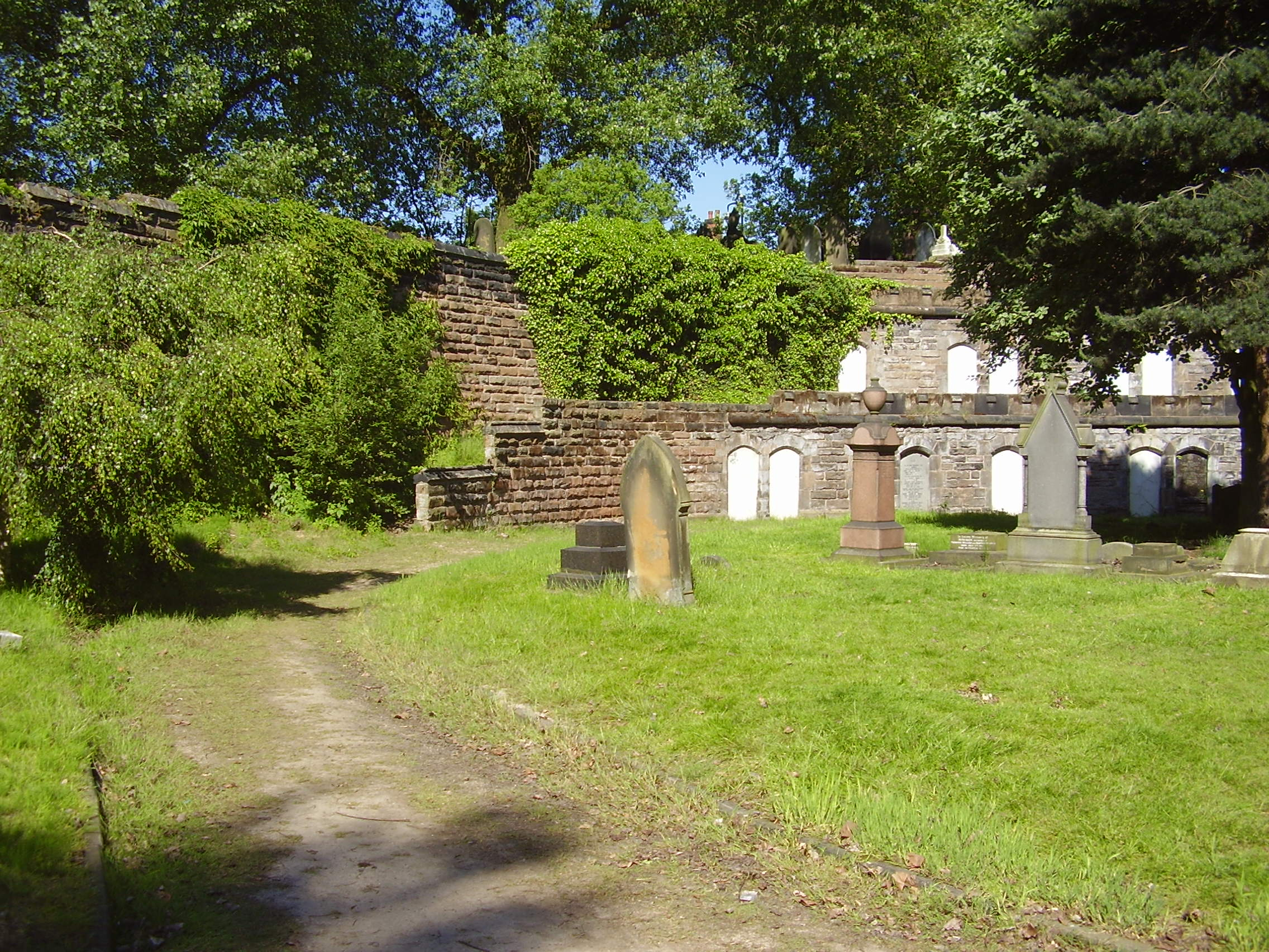 Photographed in 2008 Warstone Lane (Mint) Cemetery Catacombs in the Jewellery Quarter Birmingham