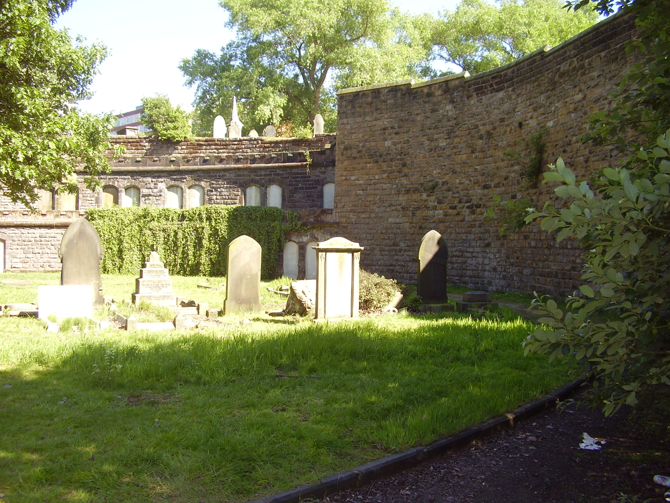 2008 Warstone Lane (Mint) Cemetery Catacombs in Birmingham's Jewellery Quarter