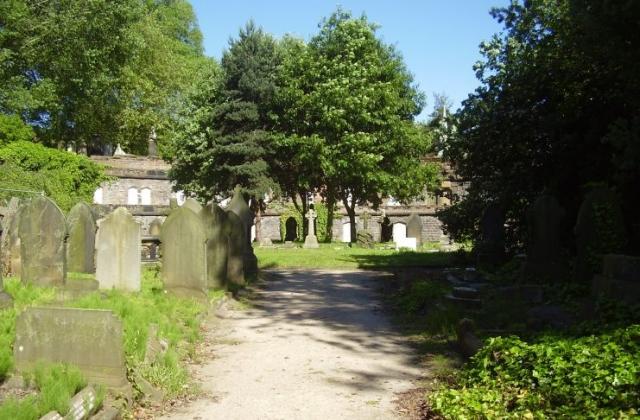 Warstone Lane or Mint Cemetery Catacombs 2008 in Birmingham's Jewellery Quarter