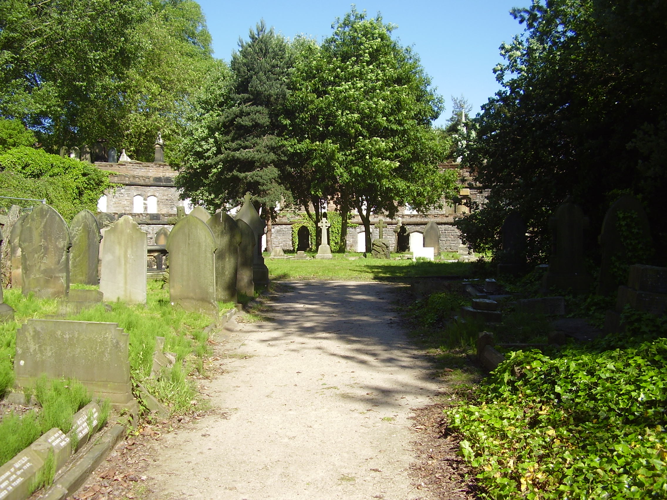 Warstone Lane or Mint Cemetery Catacombs 2008 in Birmingham's Jewellery Quarter