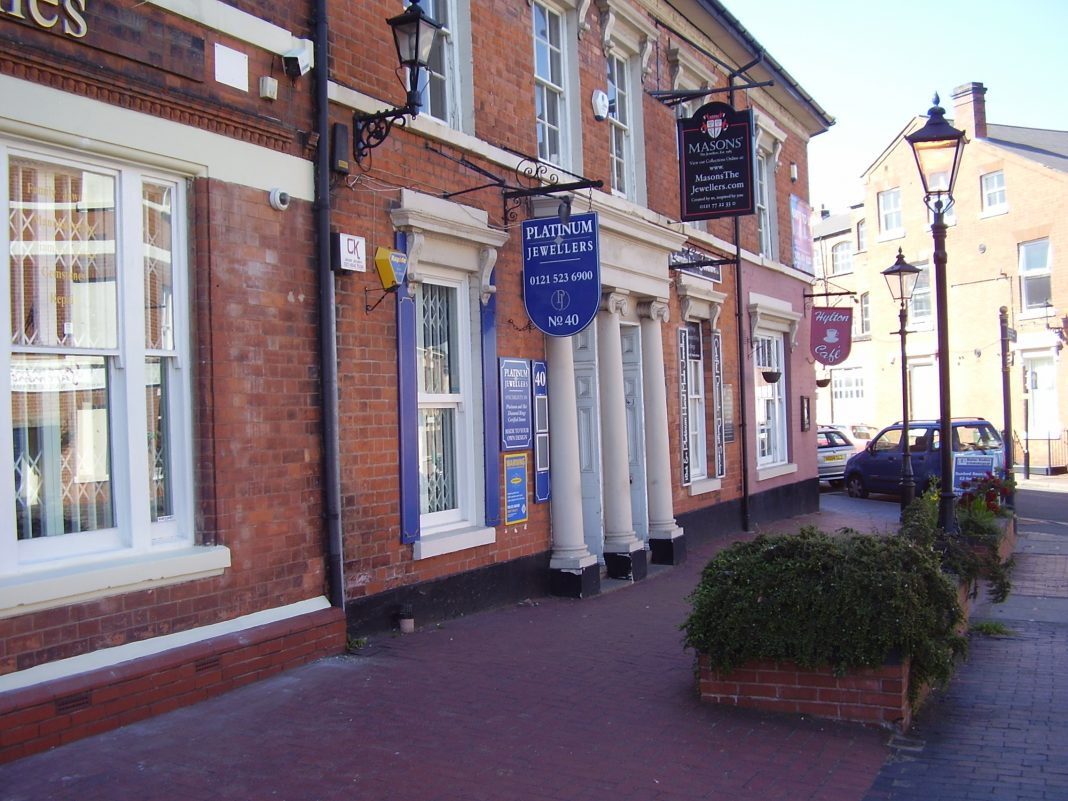 Photograph of a Jewellery Shop in Vyse St, Jewellery Quarter Birmingham 2008