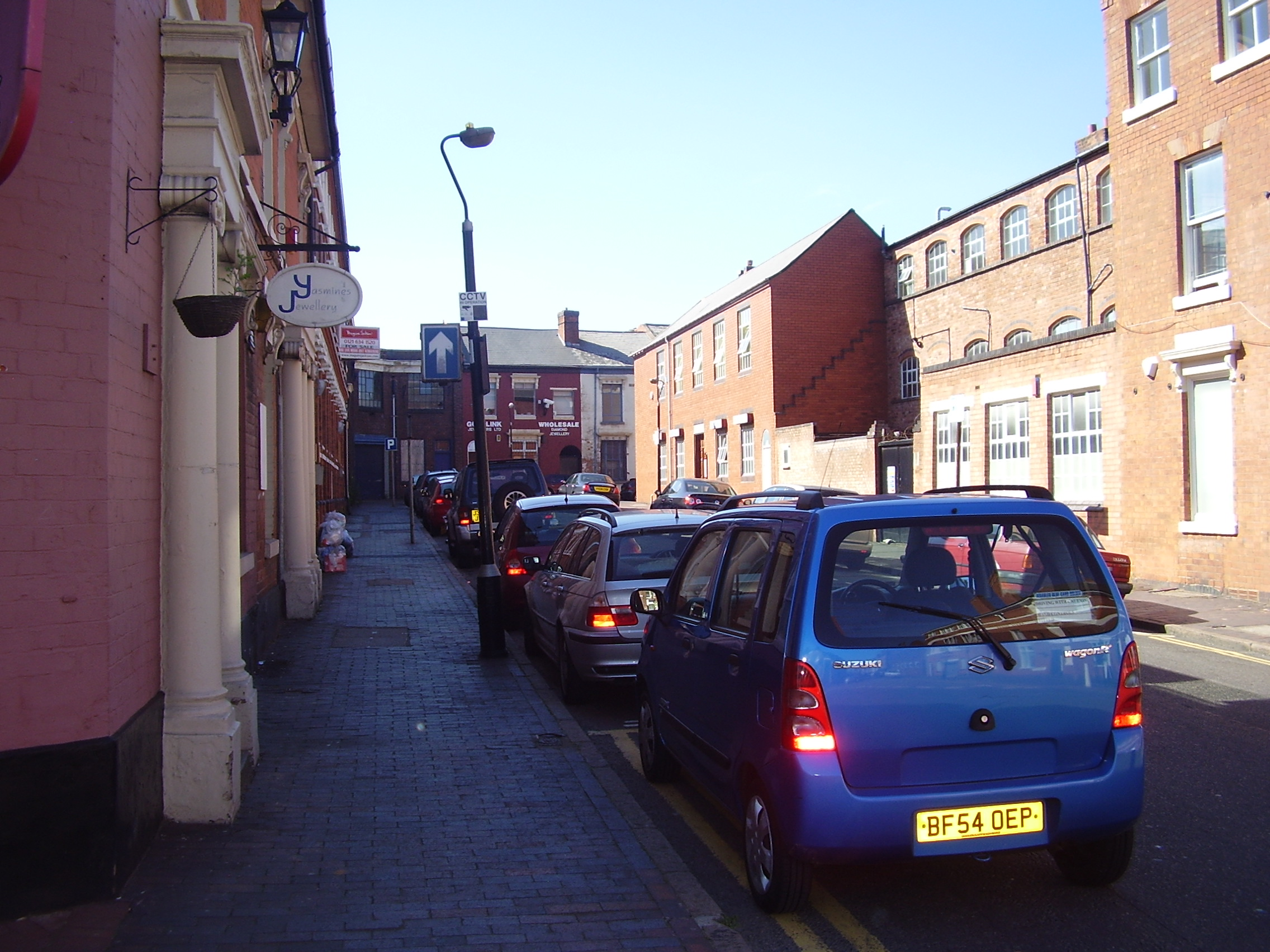 Jewellery Shops in Vyse Street 2008