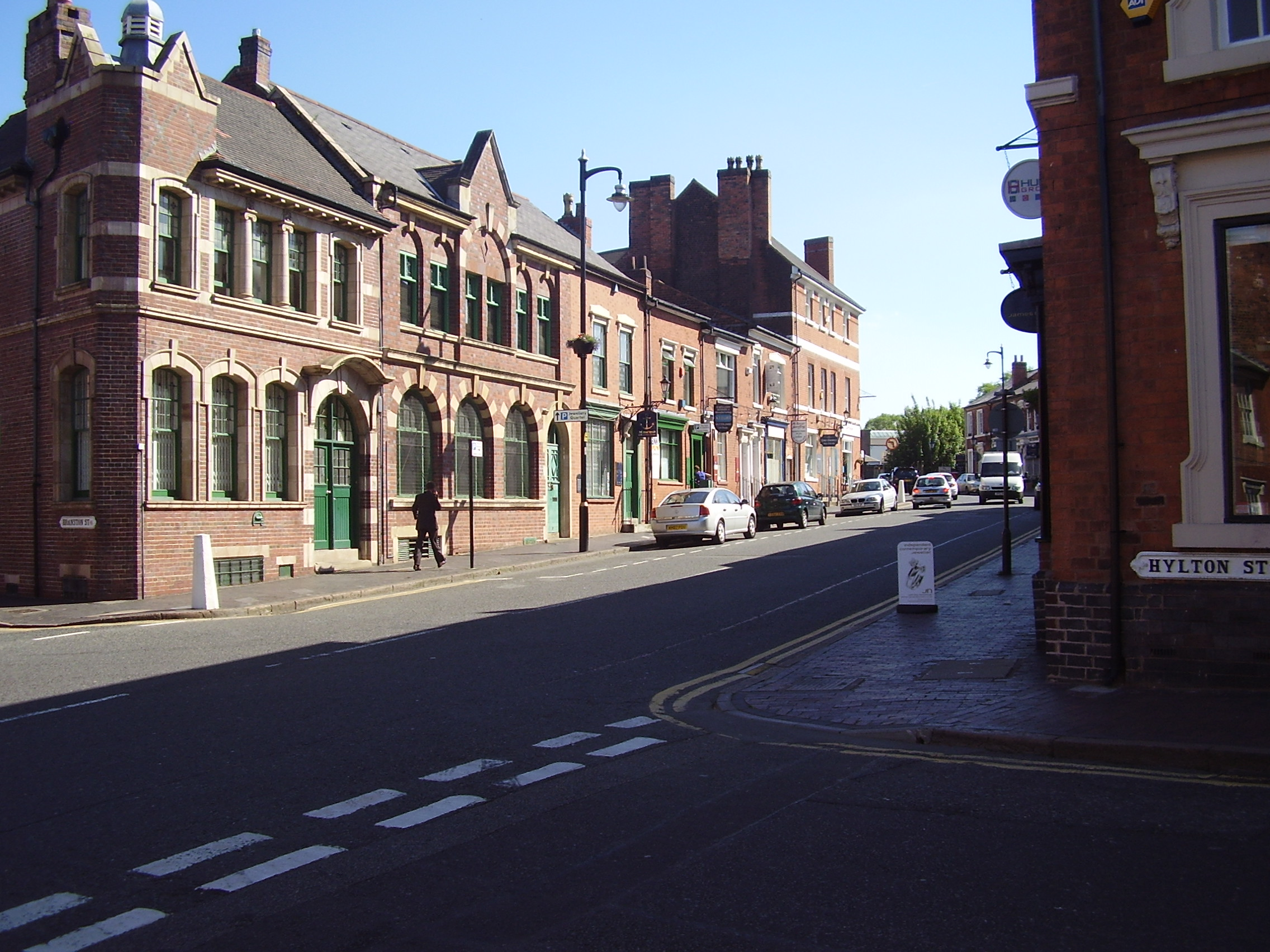 2008 looking up towards the Museum of the Jewellery Quarter 75-80 Vyse St, Birmingham B18 6HA, UK