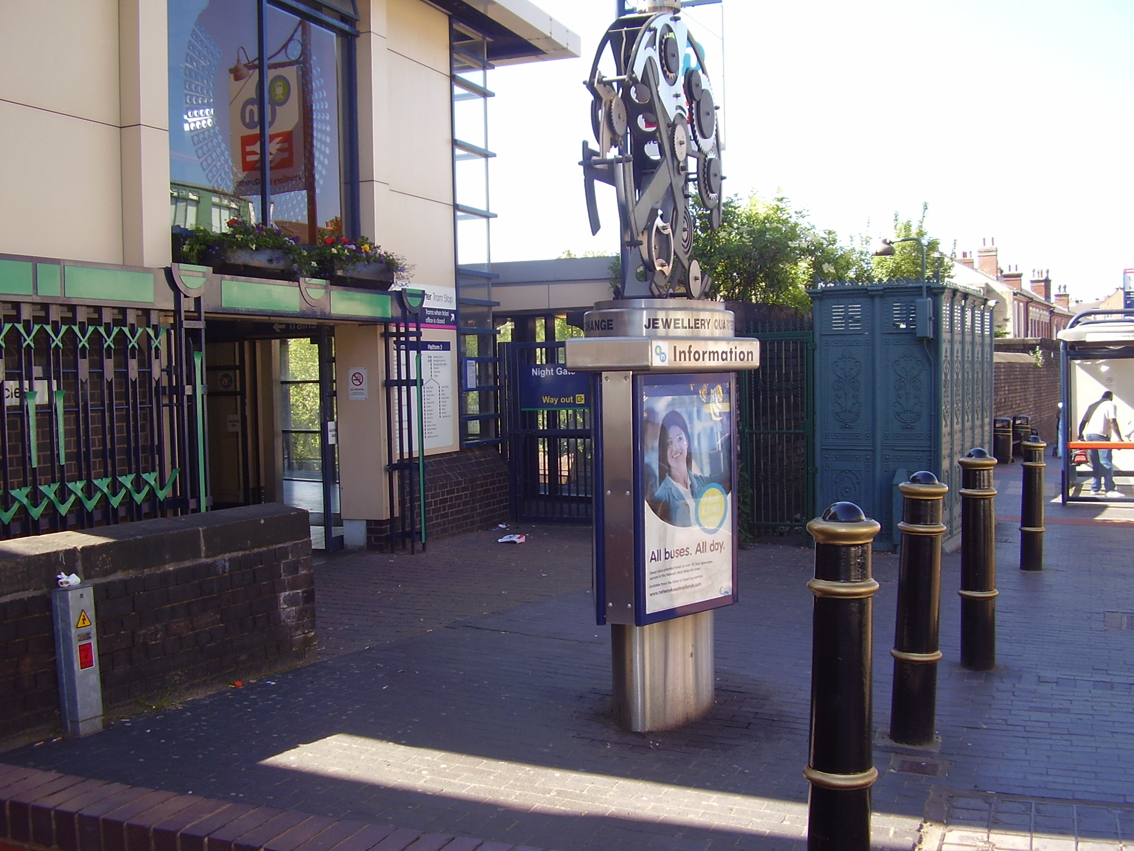 Jewellery Quarter Station Vyse Street 2008