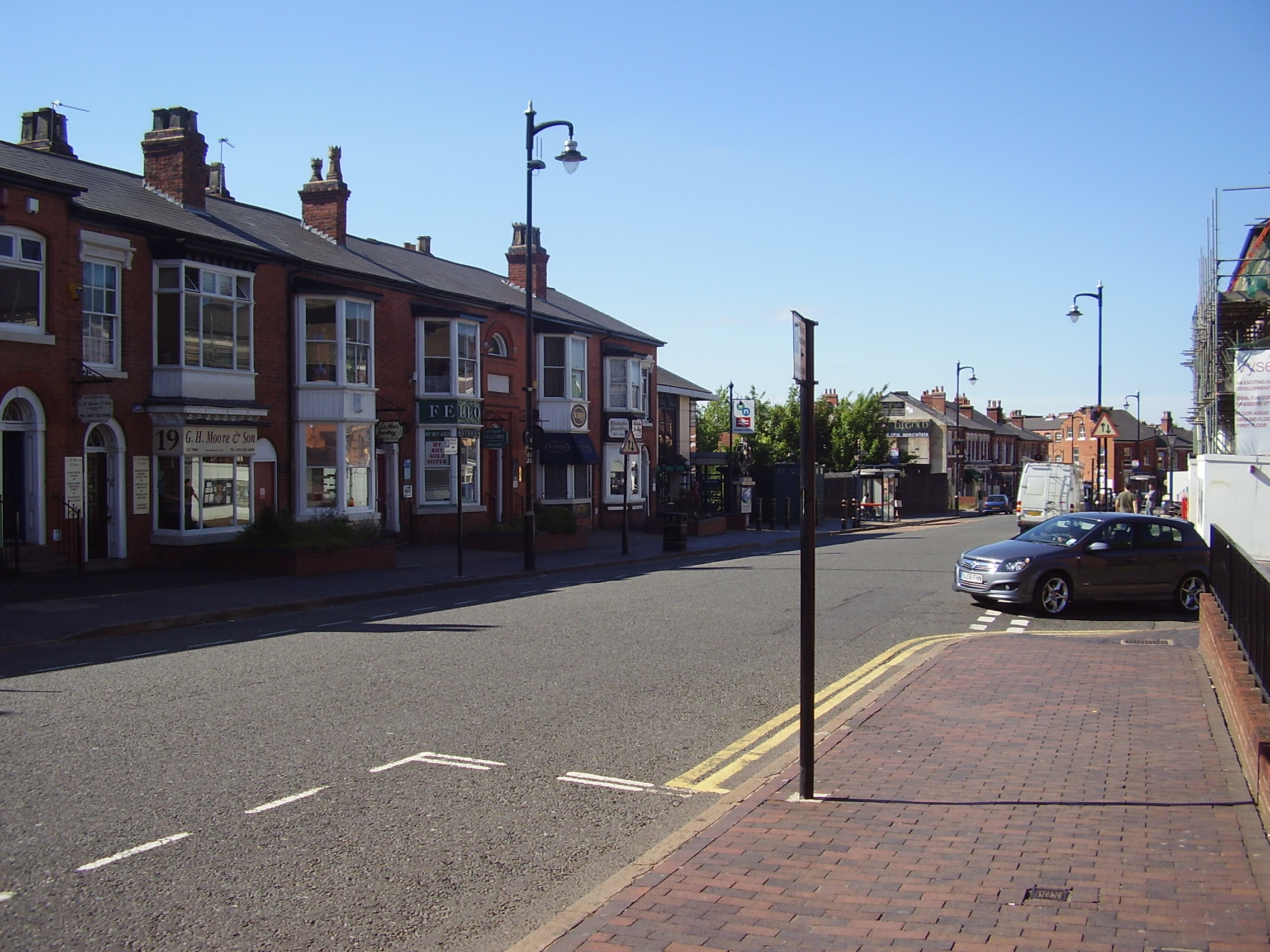 The Jewellery Quarter in Birmingham 2008