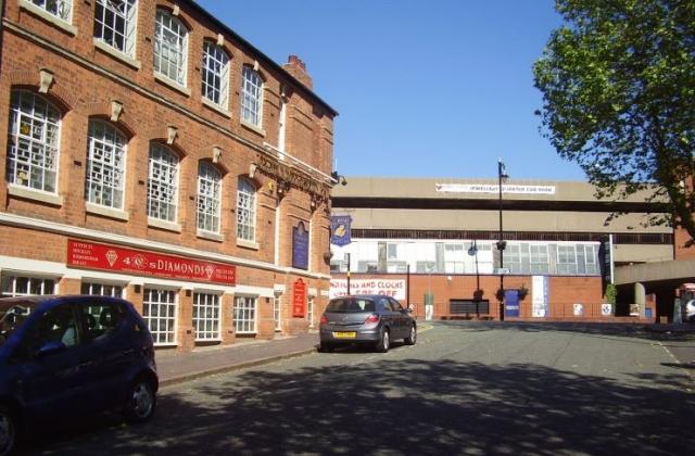 The Jewellery Quarter in Birmingham 2008